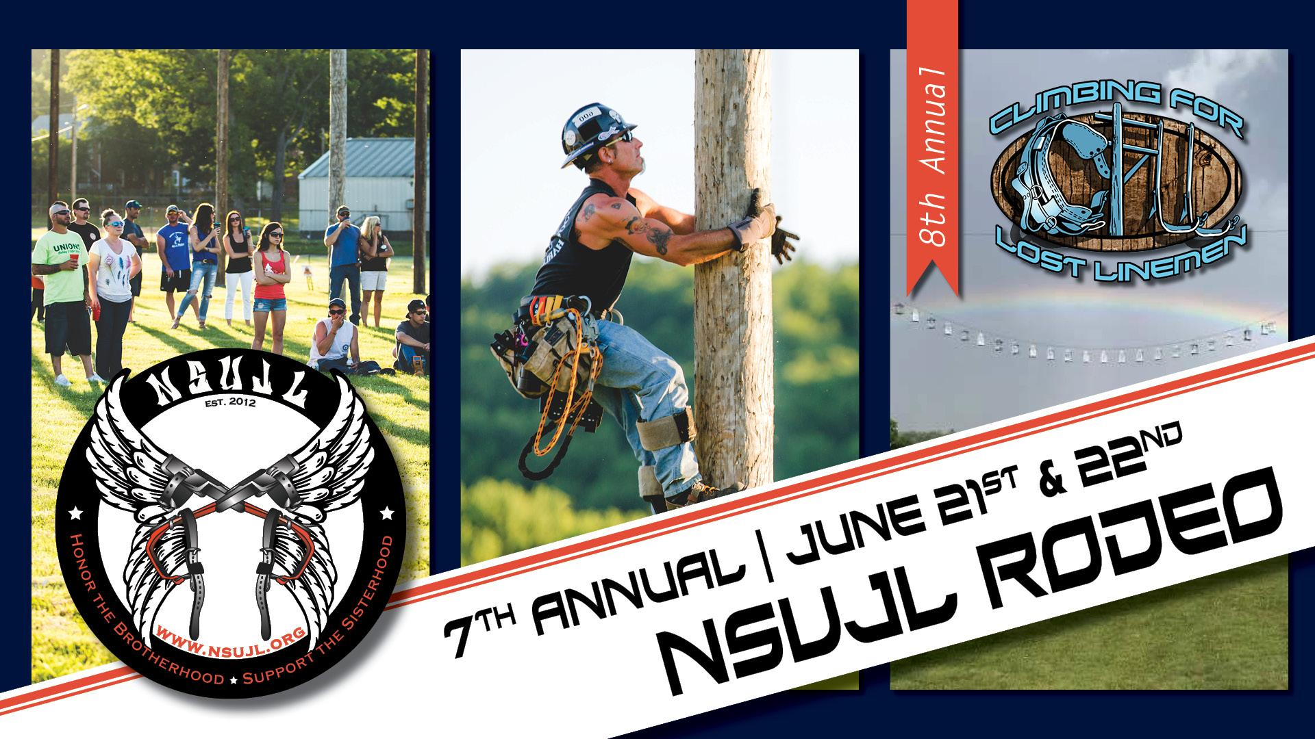 Nsujl S 2019 Lineman S Rodeo Registration Now Open