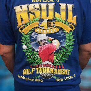 NSUJL 4th Annual Golf Tournament Tee
