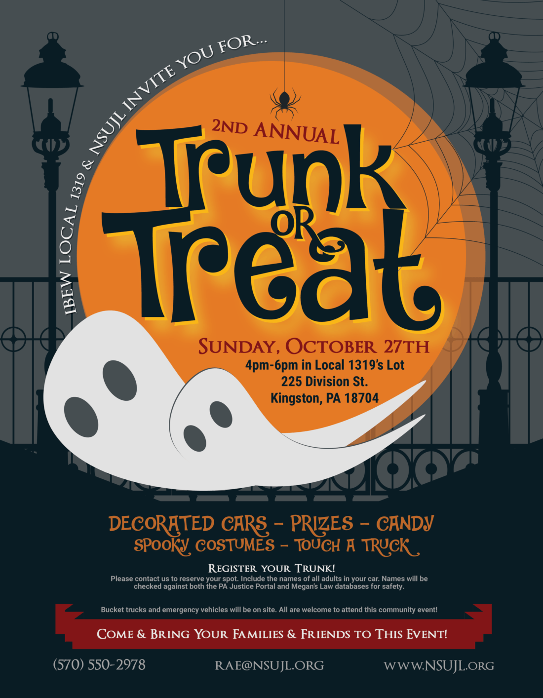 NSUJL 1319 Trunk or Treat 2019