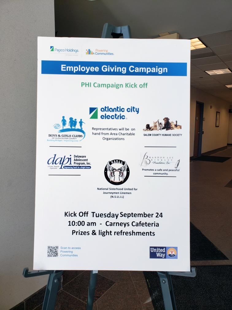 ACE Giving Campaign Kickoff