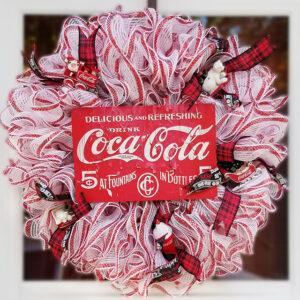 Coca-Cola Holiday Wreath