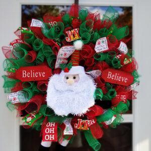 Do You Believe? – Santa Wreath