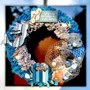 Life is Better in Flip Flops Wreath