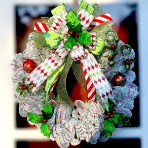 Happy Holly-Days Wreath
