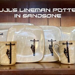 Handmade Lineman Pottery